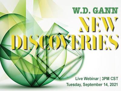 W. D. Gann webinars learn trading